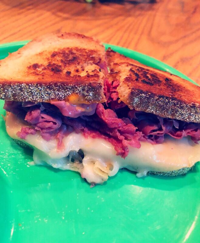 Nebraska Reuben Sandwich